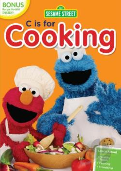 Sesame Street: C Is for Cooking DVD Cover Art