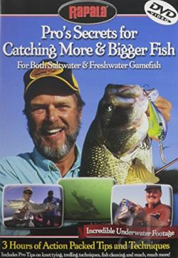 Rapala Pros' Secrets for Catching More and Bigger Fish DVD Cover Art