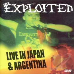 Exploited - Live in Japan & Argentina DVD Cover Art