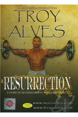 Troy Alves: Resurrection DVD Cover Art