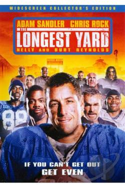 Longest Yard DVD Cover Art