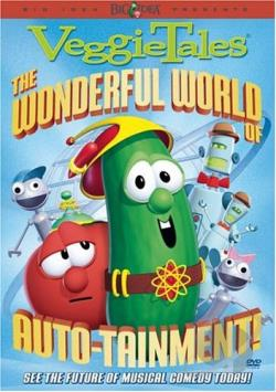 VeggieTales - The Wonderful World of Auto-Tainment DVD Cover Art