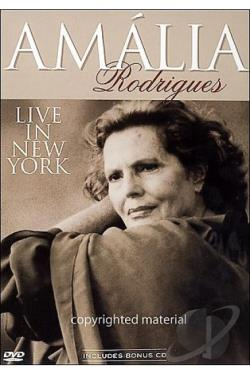 Amalia Rodrigues - Live in New York City DVD Cover Art