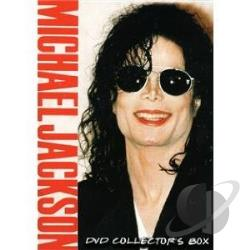 Michael Jackson: DVD Collectors Box DVD Cover Art