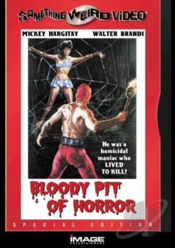 Bloody Pit of Horror DVD Cover Art