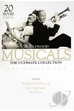 Musicals: The Ultimate Collection - The Golden Era DVD Cover Art