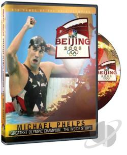 Michael Phelps Greatest Olympic Champion - The Inside Story DVD Cover Art