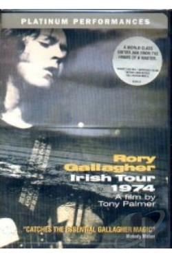Rory Gallagher - Irish Tour 1974 DVD Cover Art
