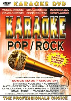 Karaoke - Pop/Rock DVD Cover Art