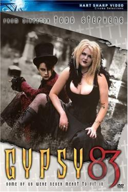 Gypsy 83 DVD Cover Art
