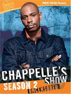 Chappelle's Show - Season 2 Uncensored DVD Cover Art