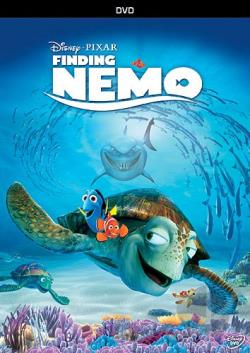 Finding Nemo DVD Cover Art