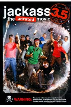 Jackass 3.5 DVD Cover Art
