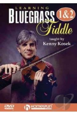 Learning Bluegrass Fiddle - V. 1 DVD Cover Art