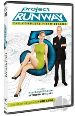 Project Runway - The Complete Fifth Season DVD Cover Art