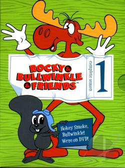 Rocky & Bullwinkle - The Complete First Season DVD Cover Art