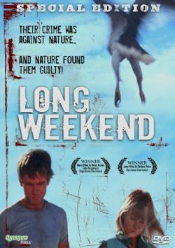 Long Weekend DVD Cover Art