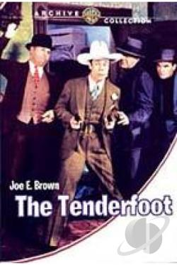 Tenderfoot DVD Cover Art