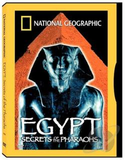 National Geographic Video - Egypt: Secrets of the Pharaohs DVD Cover Art