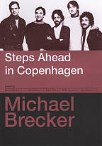 Michael Brecker: Steps Ahead in Copenhagen DVD Cover Art