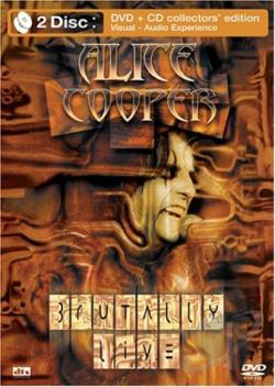 Alice Cooper - Brutally Live DVD Cover Art