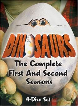 Dinosaurs - The Complete First and Second Seasons DVD Cover Art