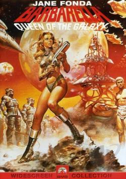 Barbarella DVD Cover Art