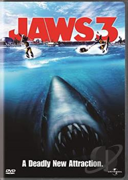 Jaws 3 DVD Cover Art
