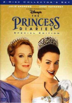 Princess Diaries DVD Cover Art