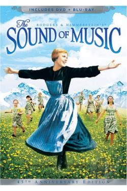 Sound of Music DVD Cover Art