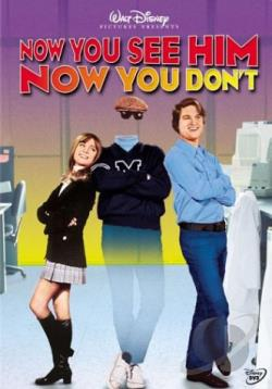 Now You See Him, Now You Don't DVD Cover Art