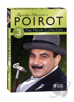 Agatha Christie's Poirot: The Movie Collection - Set 3 DVD Cover Art