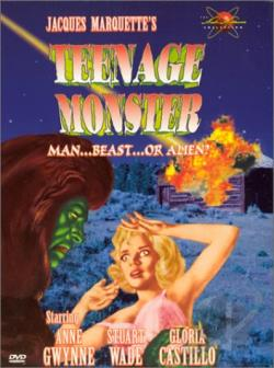 Teenage Monster: Meteor Monster DVD Cover Art