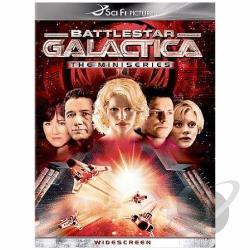 Battlestar Galactica - The Miniseries DVD Cover Art