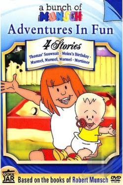 Bunch Of Munsch - Adventures In Fun DVD Cover Art