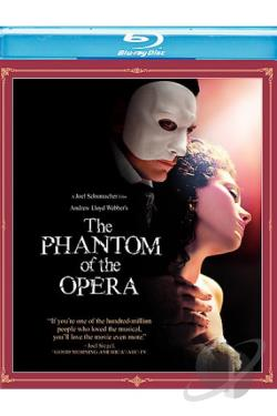 Andrew Lloyd Webber's The Phantom of the Opera BRAY Cover Art