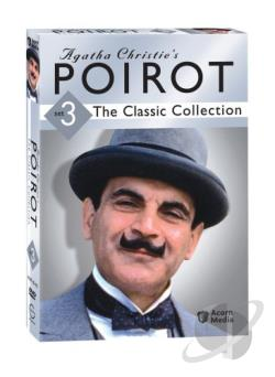Agatha Christie's Poirot: The Classic Collection - Set 3 DVD Cover Art