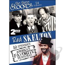 Three Stooges And The Red Skelton Show DVD Cover Art