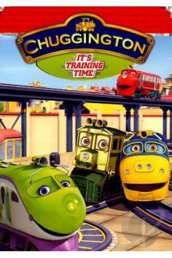 Chuggington: It's Training Time DVD Cover Art