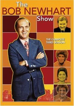 Bob Newhart Show - The Complete Third Season DVD Cover Art
