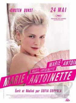 Marie Antoinette DVD Cover Art