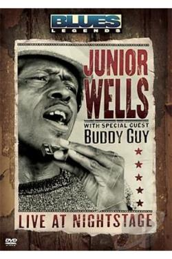 Junior Wells - Blues Legends DVD Cover Art