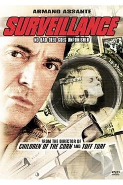 Surveillance DVD Cover Art