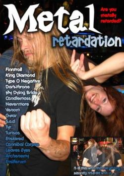 Metal Retardation: Are You Metally Retarded? DVD Cover Art