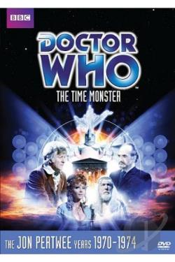 Doctor Who - The Time Monster DVD Cover Art