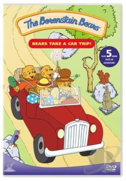 Berenstain Bears - Bears Take a Car Trip DVD Cover Art