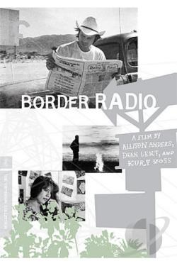 Border Radio DVD Cover Art