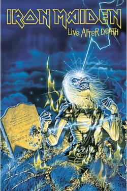 Iron Maiden - Live After Death DVD Cover Art