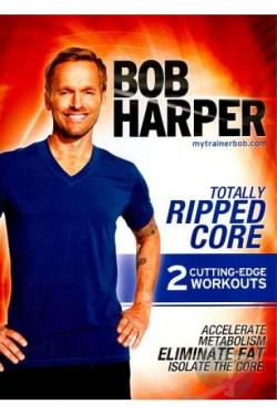 Bob Harper: Totally Ripped Core DVD Cover Art