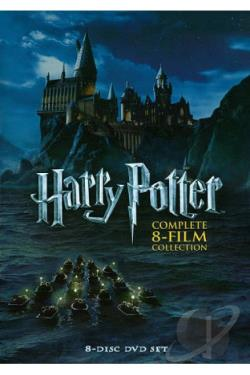 Harry Potter - The Complete 8-Film Collection DVD Cover Art